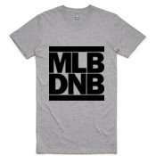 MLB DNB (ALL BLACK) - Men's Tall Tee